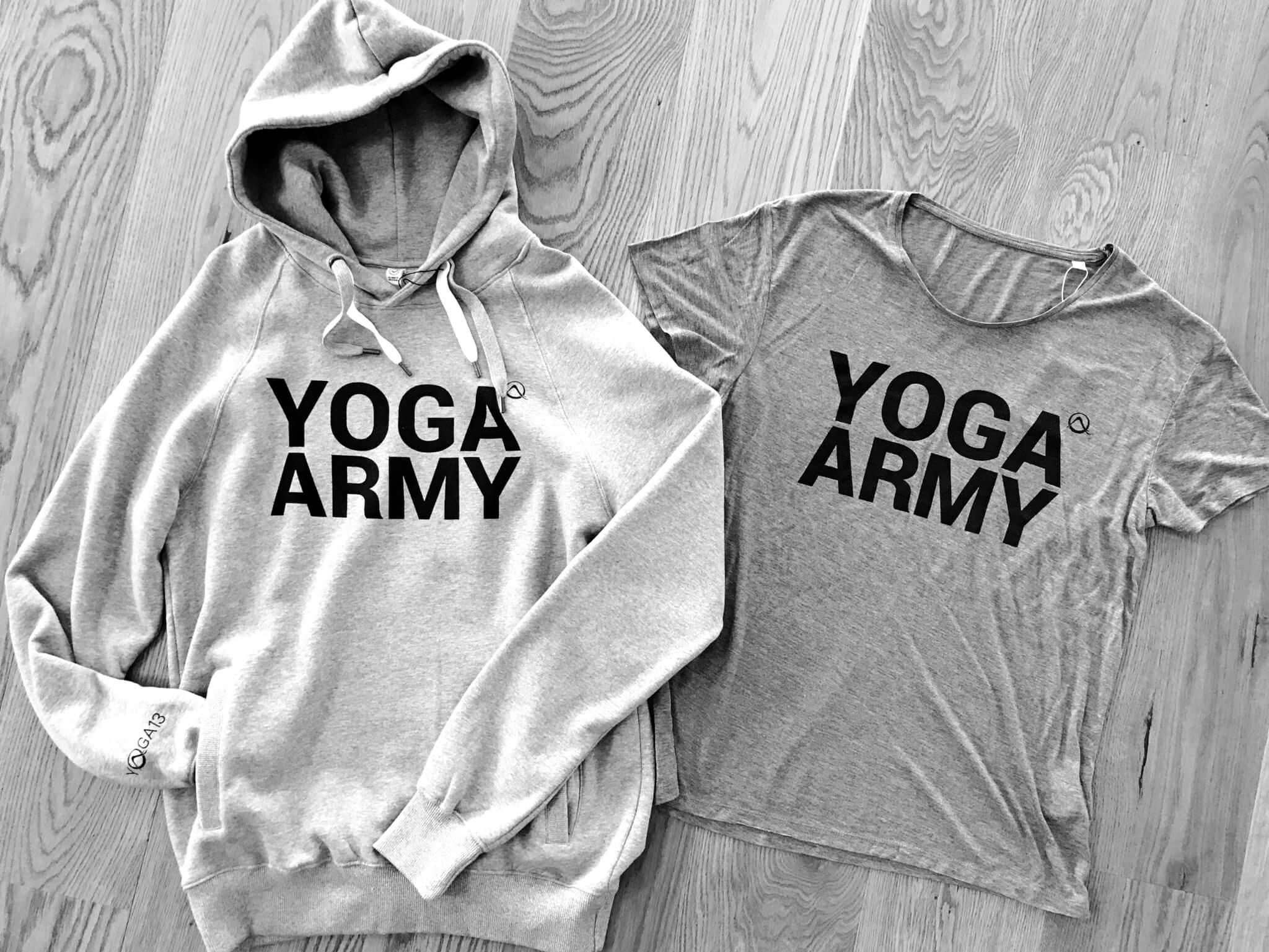 YOGA ARMY BW